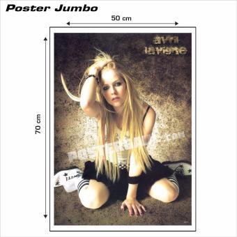 Annual Reportt Source · Poster Jumbo Avril Lavigne 02 50 x 70 cm