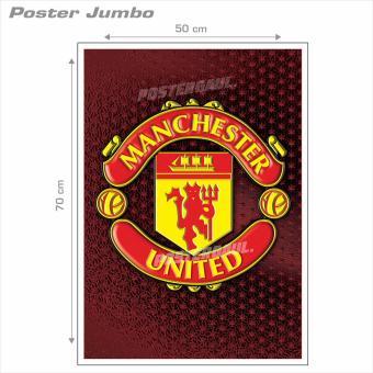 Poster Jumbo Logo Manchester United FC #FCL43 - 50 x 70 cm