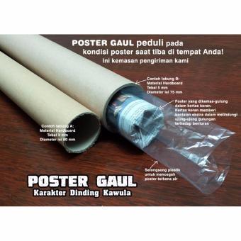 Poster Jumbo LOGO PERSIB FCL044 50 x 70cm