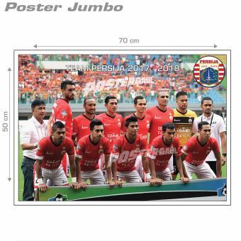 Poster Jumbo: PERSIJA STARTER TEAM 17/18 #FCL048 - 50 x 70 cm
