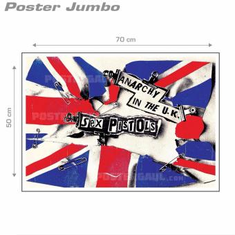 ... Poster Jumbo Sex Pistols Anarchy In The UK MUI060 50 x 70