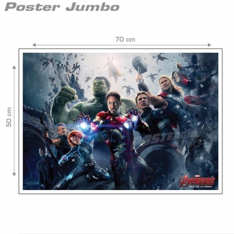 Poster Jumbo: THE AVENGERS - AGE OF ULTRON #FM17 - 50 x 70 cm