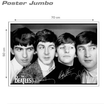 Poster Jumbo: The Beatles #10 - 50 x 70 cm