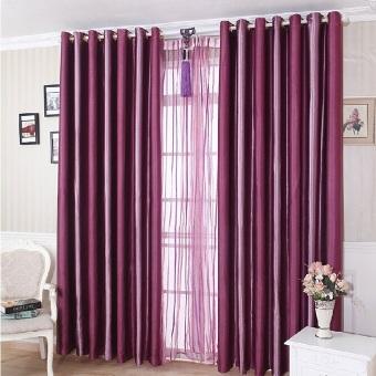 Rainbow Gorden Blackout Glossy Purple - Ungu