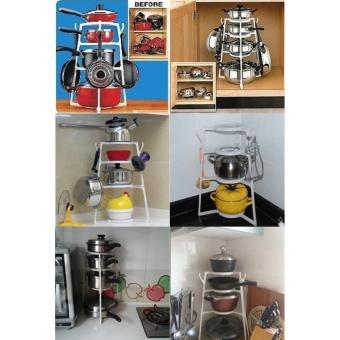Bandingkan Toko Rak Khusus Untuk Panci / Cookware Organizer / Pan Tree / As Seen on