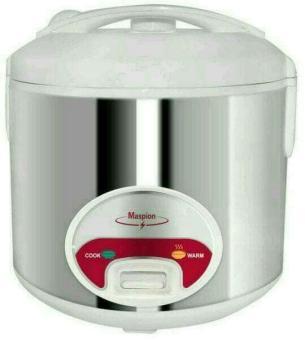 Rice Cooker Stainless Maspion Mrj 208Ms - Magic Com Maspion Stenlis