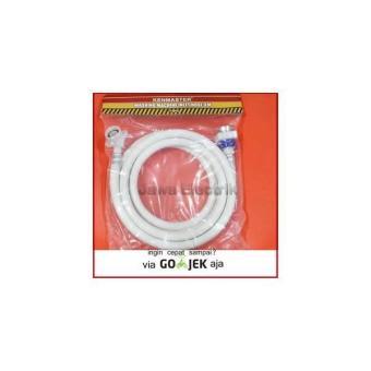 Jirifarm Hidroponik 1010b Selang Pvcpvc Tube 5 Meter 6 4mm 09257 ... - Selang. Source · Selang Mesin Cuci / Washing Machine Inlet Hose 3 Meter Kenmaster