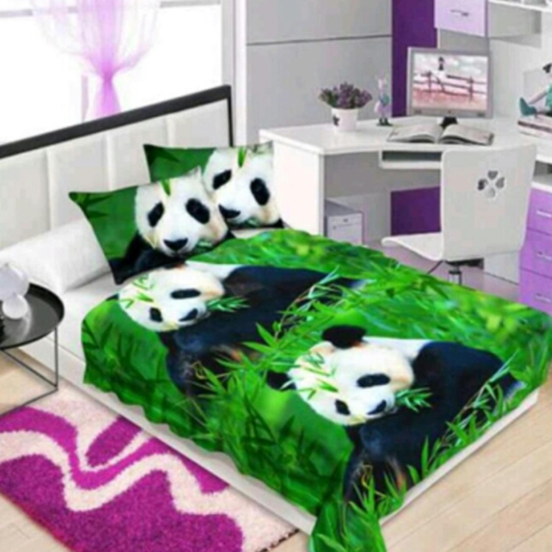 Review of Selimut Flanel Motif Panda 3D Kualitas Import ukr 150x200 belanja murah - Hanya Rp86