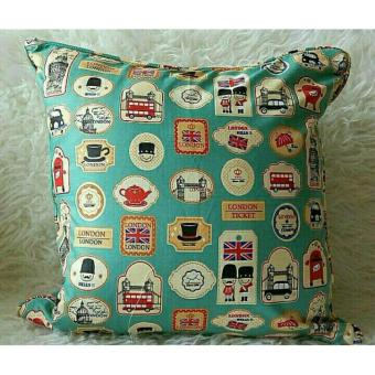 Shafiyyah Sarban Sarung Bantal Sofa / Kursi 40x40 cm (COVER ONLY)