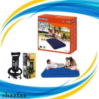Shazfaz Store Kasur Angin Double Bestway + Pompa