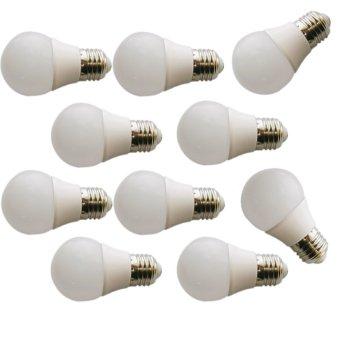 Sip Lite Cahaya Terang Bohlam Lampu Led Globe 50Mm S - 3 Watt Putih X 10