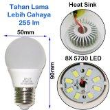 ... Sip Lite Cahaya Terang Bohlam Lampu Led Globe 50Mm S - 3 Watt Putih X 4 ...