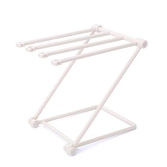 Special kitchen fitting Punch-free vertical folding cloth rack - intl