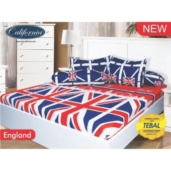 Sprei California Queen Motif England