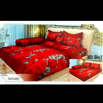 Sprei Lady Rose 160x200 Velvet