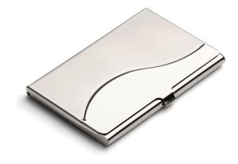 Stainless Steel Business Card Case Credit ID Card Holder Case