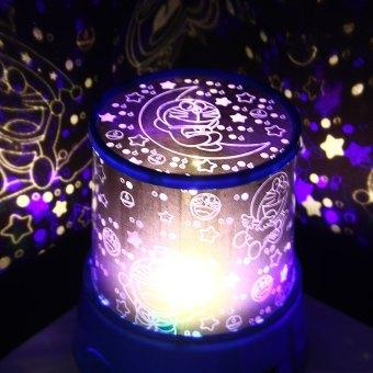 Star Master Lampu Hias Kamar Tidur Master Projector Lamp Doraemon Musik+Berputar