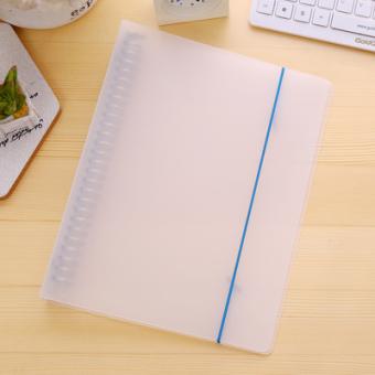 This Watch A5/B5/A4 Transparan Tali Akun Notepad Binder