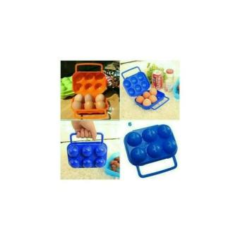 Tempat Telur Isi 6 Tas Egg Box Holder Storage