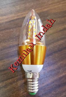 Bohlam LED e14 5watt Candle SAMSUNG LED/ lampu gantung / lampu