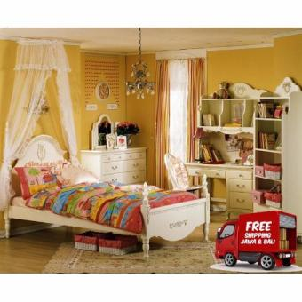 The Olive House - Tempat Tidur Queen Anne SS 120
