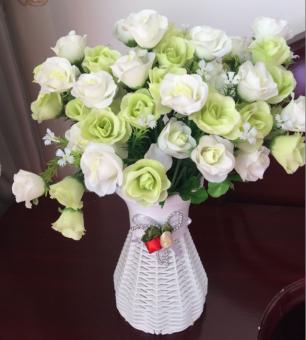 Tianyuan Bunga Sutra Replika Satu Set
