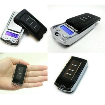 Timbangan Super Mini Digital Emas Batu Berlian Pocket Scale Digital Portable Scale Alarm Case