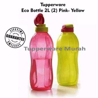 Tupperware eco bottle 2 L - Pink Yellow