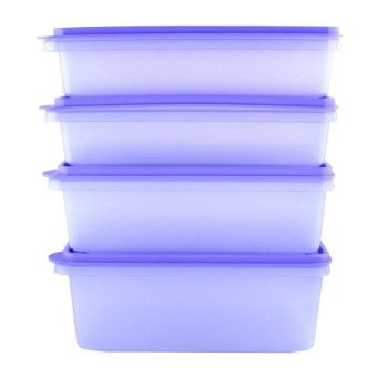 Tupperware Plum Collection - 4 Buah
