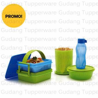 Tupperware T-POP - Rantang + Botol Edisi Lengkap
