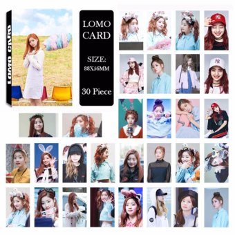 Twice Cheer Up Knock Knock TT Album LOMO Cards New Fashion Self Made Paper Photo Card