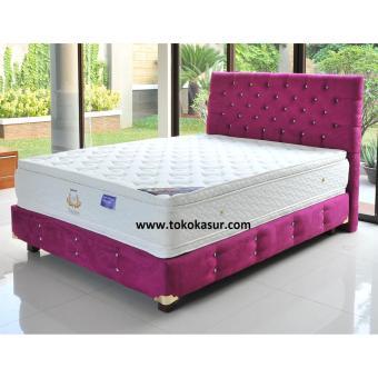 Uniland Platinum Double Pillowtop Violetta 180x200 Kasur Tanpa Divan/Sandaran