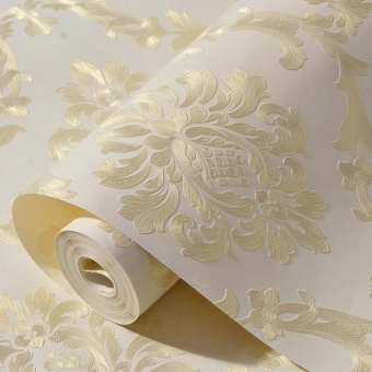 Wallpaper Dinding Luxury Klasik Coklat Gold