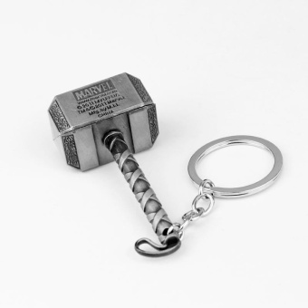 Warm your home Hammer Keyring Keychain Collection Craft Bronze Antique Silver Accessories - intl