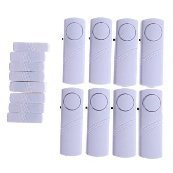 Yangunik 8 Set Alarm Pintu Anti Maling Door entry alarm - Putih