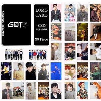 Youpop KPOP GOT7 Album LOMO Cards K-POP New Fashion Self Made Paper Photo Card