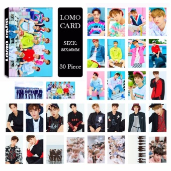 WANNA ONE Collective Members Album LOMO Cards Hip Hop New Fashion Self Made Paper Photo Card