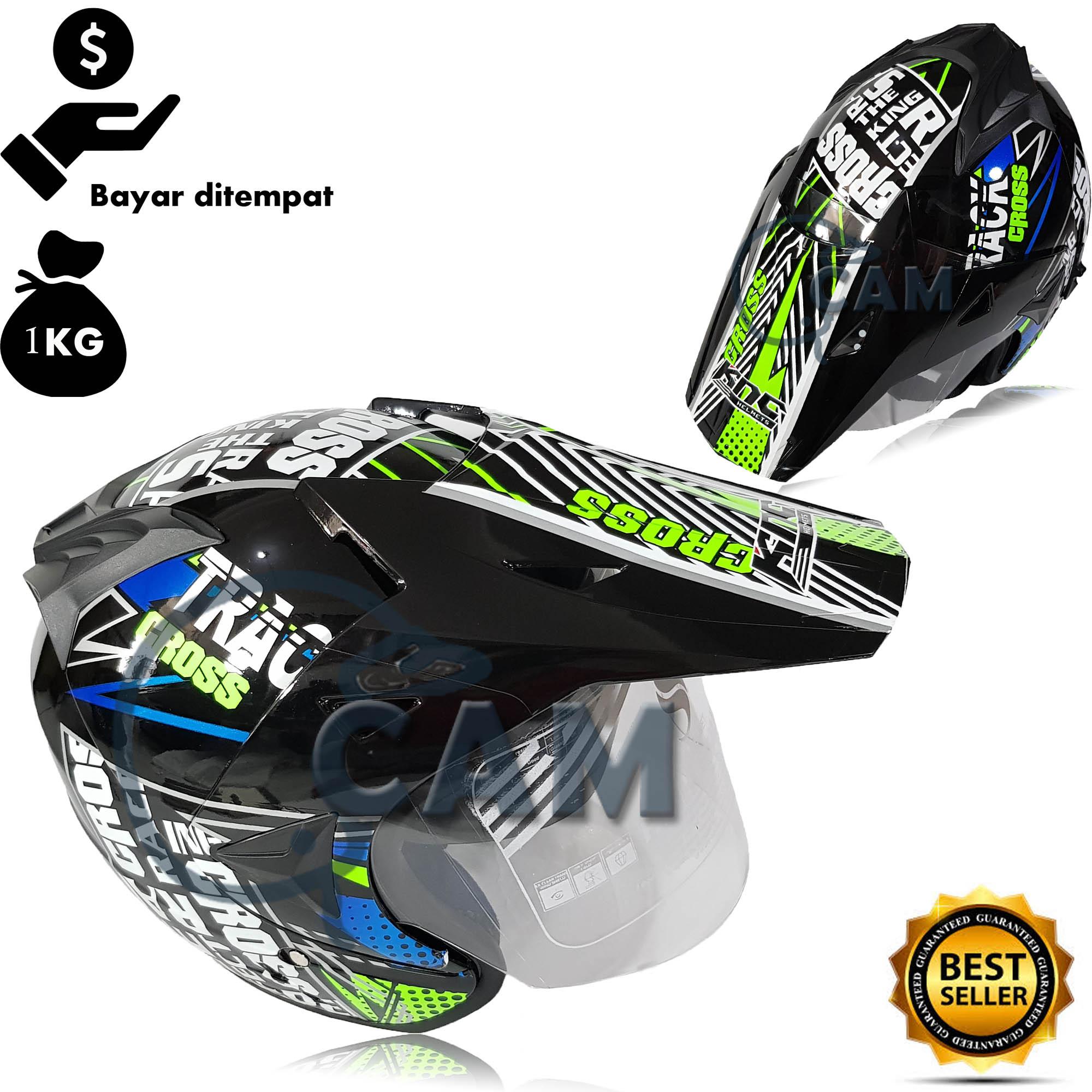 helm semi cross track black gloss bukan jpx ink nhk bxp