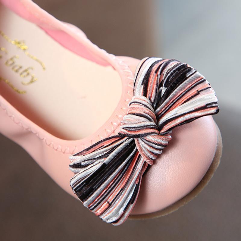 ... 2018 musim gugur model baru Anak prempuan Imut netral mulut dangkal sepatu kulit kecil Gaya Korea ...