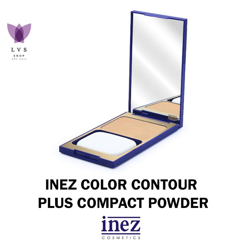 inez – compact powder – (4 warna) – lvs shop