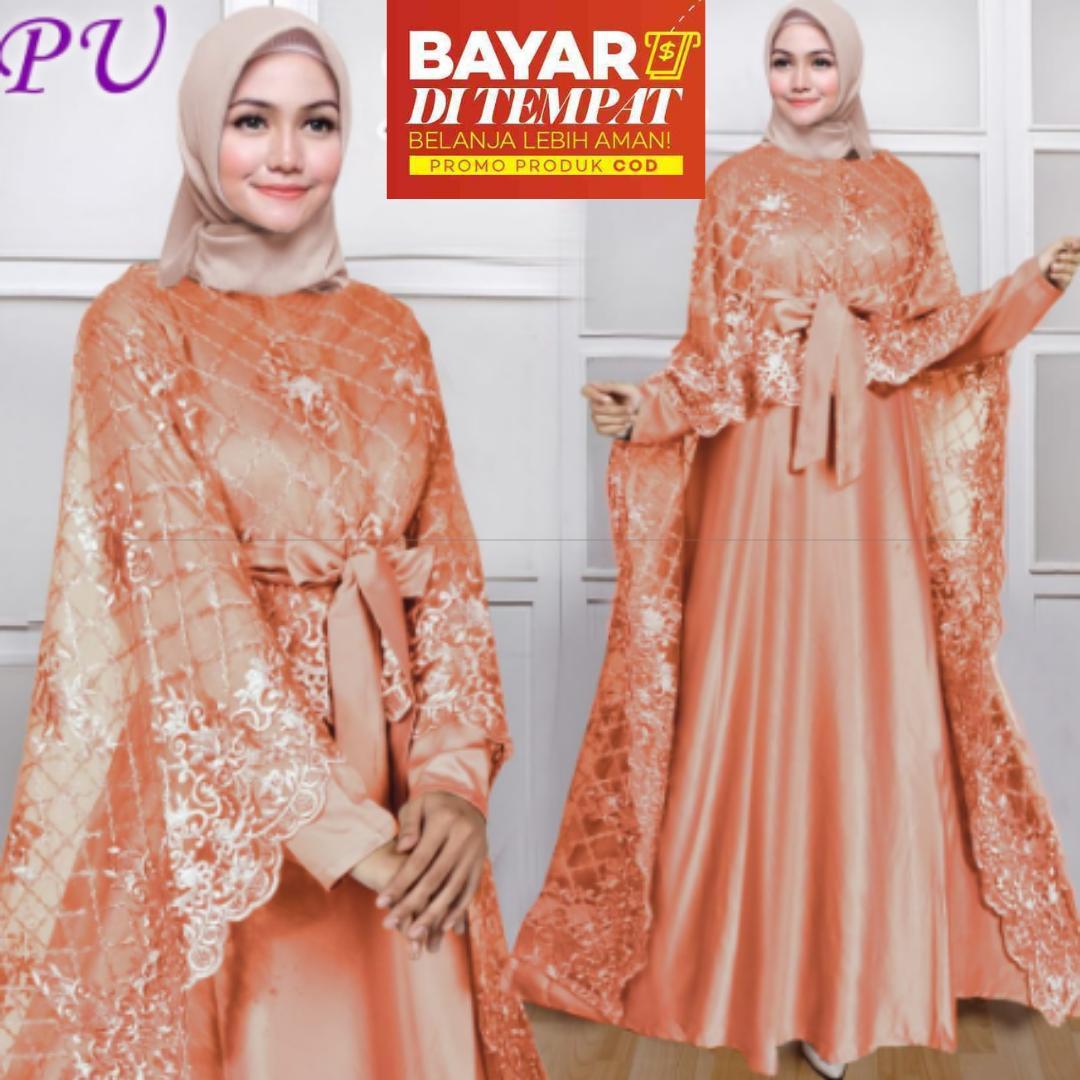 Review Promo Kebaya Jadi Modern Hitam Bordir Payet Brokat Tile