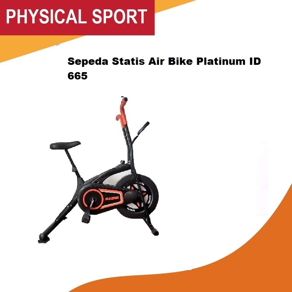 sepeda statis air bike platinum id 665