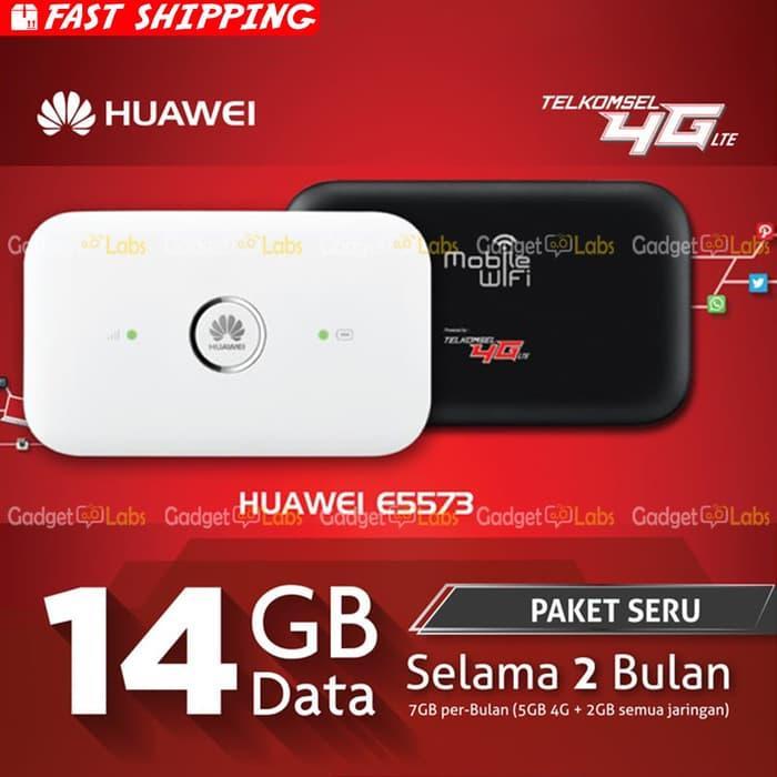 Promo Huawei E5573 Mifi Router Modem Wifi 4G Telkomsel Unlock All Operator Termurah