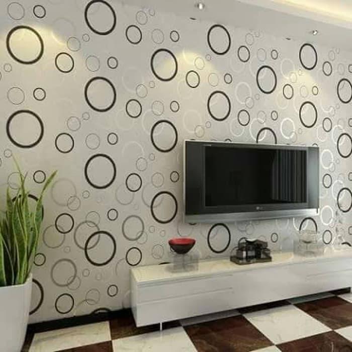 Features Promo Termurah Motif Polkadot Uk 45cm X 10m Wallpaper