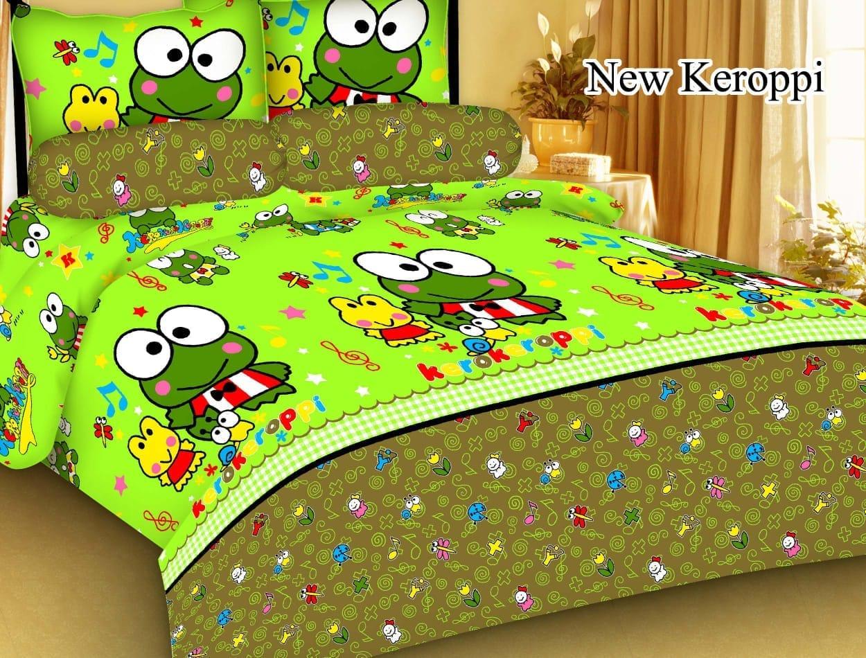 cod sprei set karakter 3d anti luntur size 180×200 cm [ bayar tempat ] / sprei motif 3d kartun  / sprei set / bedcover set