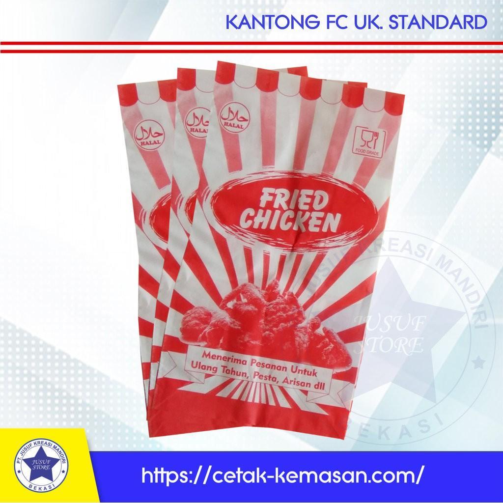 Kantong Fried Chicken Ayam Goreng Foodgrade 1 Pack @250 pcs -