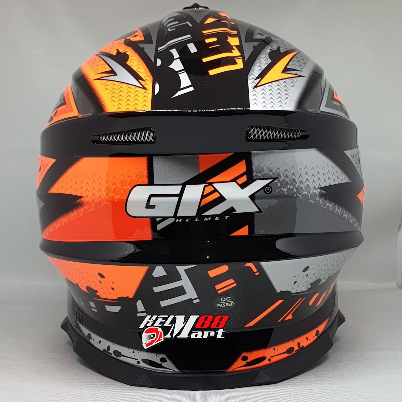 ... GIX Cross Motif Helm Motocross - 3 ...