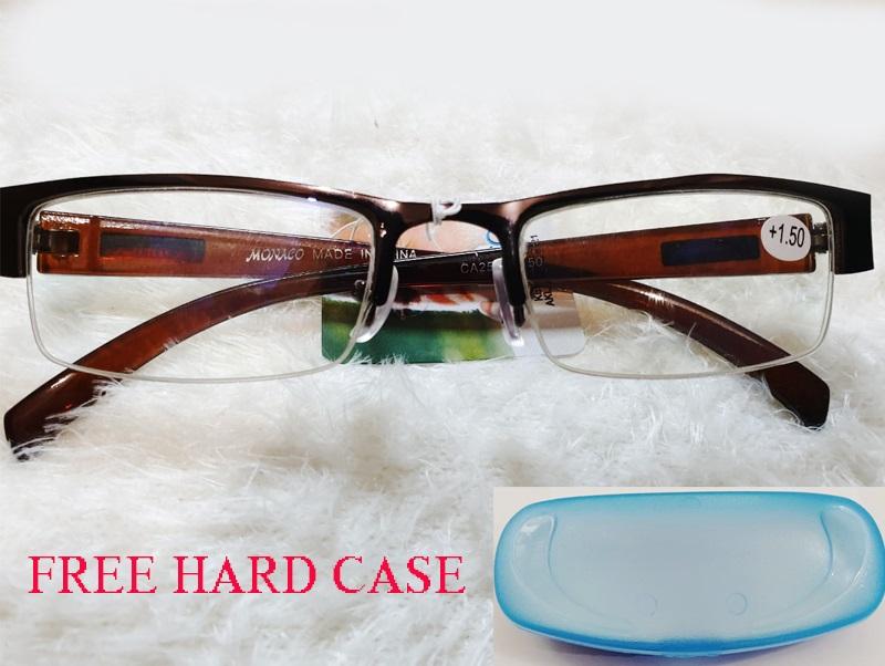 kacamata baca plus (+) korean style kacamata baca fashion untuk pria & wanita ukuran +1.00 sampai +3.00 promo kacamata free cash