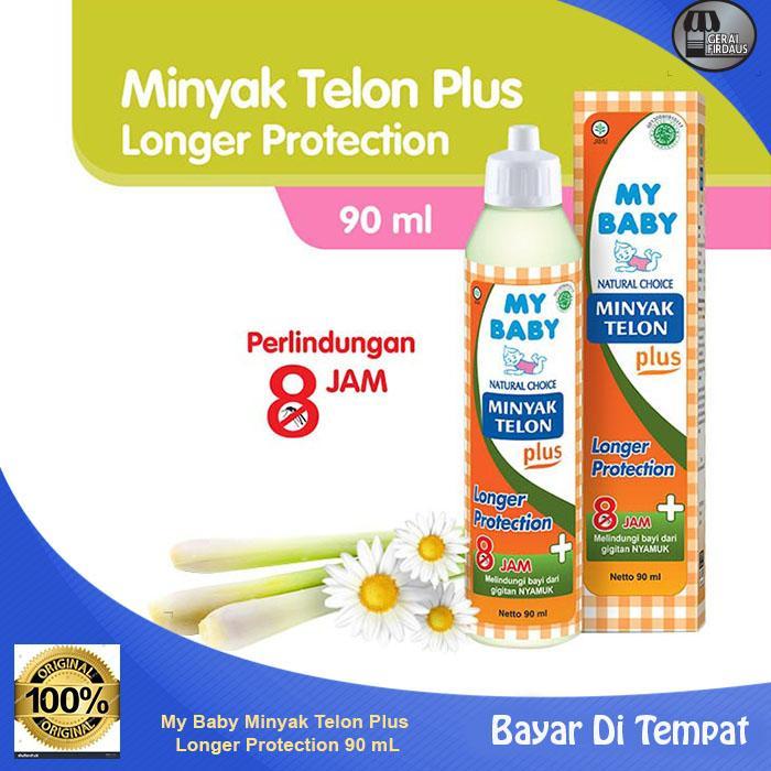 gf my baby minyak telon plus longer protection 90 ml 1 botol