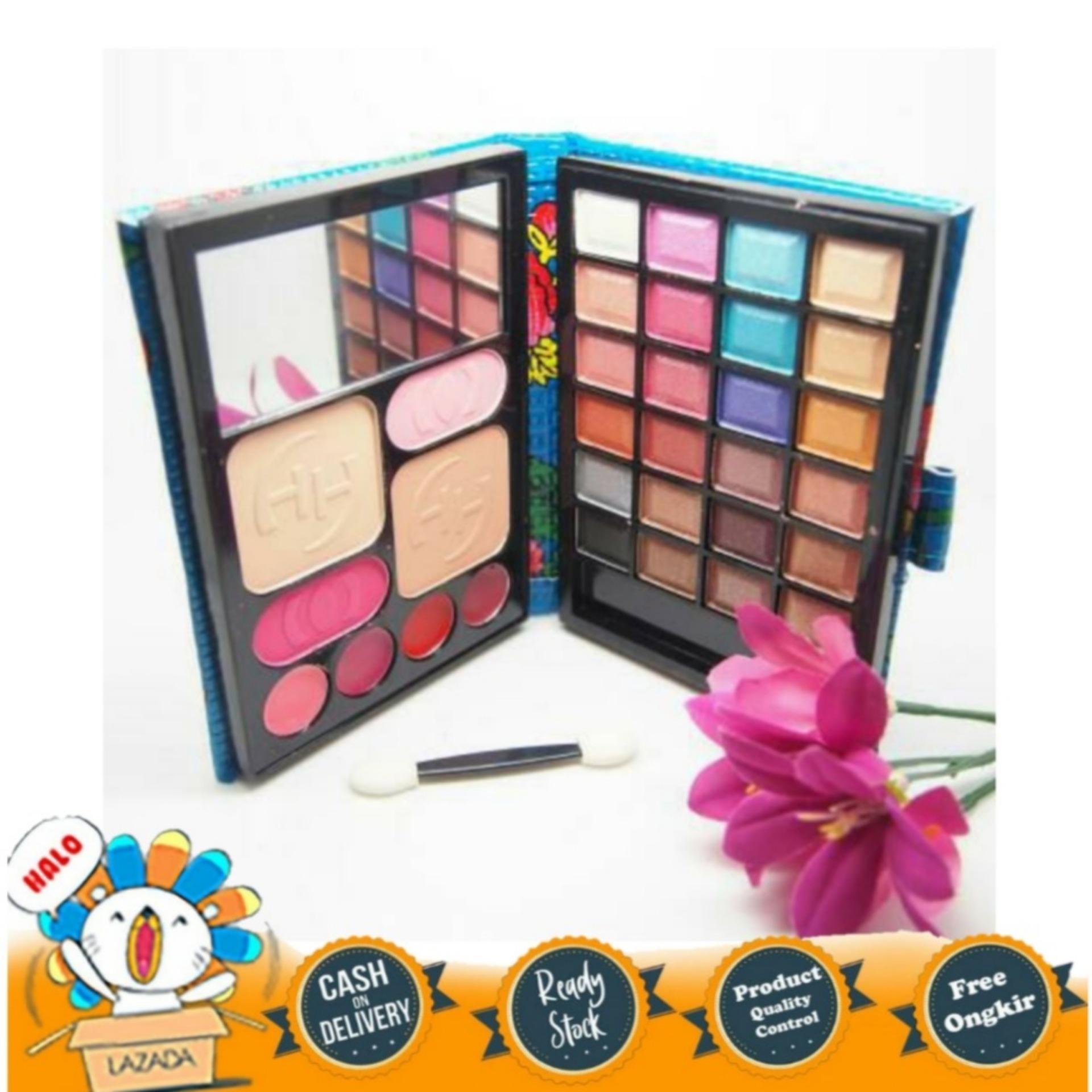 eyeshadow makeup dompet huda – 5 in1